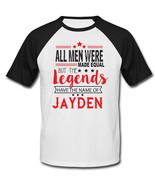 JAYDEN - NEW BLACK SLEEVED BASEBALL COTTON TSHIRT - $19.59