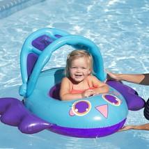 "Swim Ways 34"" Inflatable Sun Canopy Baby Boat Bird Float 9-24 months Step 1 NIB image 2"
