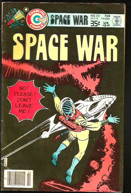 Primary image for SPACE WAR #33 classic STEVE DITKO story & Cover! Charlton Comics 1979