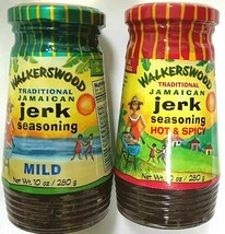 Walkerswood Jerk Seasoning Authentic Jamaican Flavor Original & Mild 10oz - $25.74