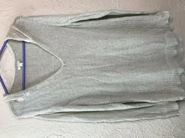 Sonoma Long Sleeve V-Neck Hooded Sweater Size Xlarge  XL - $13.98