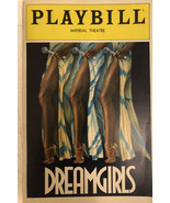 Vintage Playbill Dreamgirls Imperial Theatre New York Autographed - $11.30