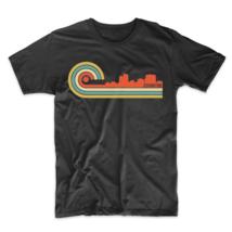 Retro Style Covington Kentucky Skyline T-Shirt - $23.99+