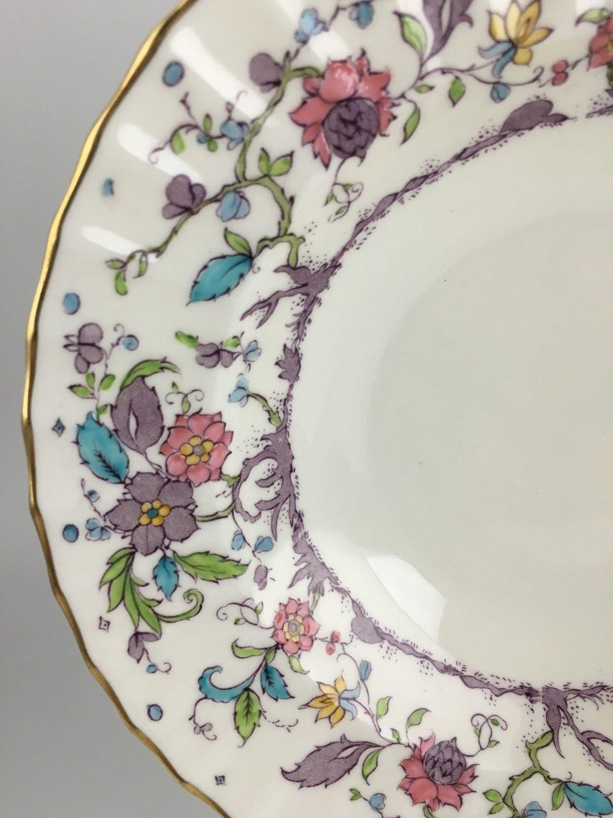 Royal Worcester KASHMIR rimmed soup bowl (8 avail.) (SKU EC 03/01) FREE SHIPPING image 2