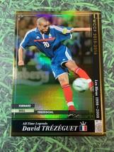 Panini WCCF 2015-16 David Trezeguet France Legend Refractor card  - $14.45