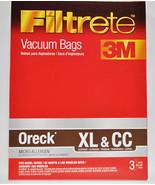 3M Filtrete Micro Allergen Oreck XL and CC Vacuum Bags, 3 Pack - $7.51