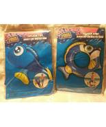 Splash Toy Fish and Matching Splash Ring Pool Toy Party Luau Blue - $9.35