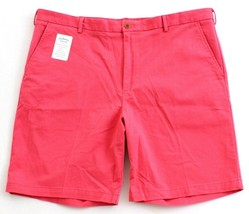 Izod Saltwater Rose Relaxed Classics Stretch Flat Front Shorts Men's NWT - $41.24