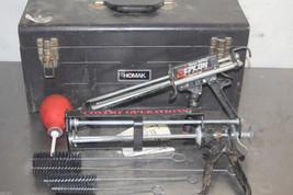 RAMSET EPCON  E101/COVERT  EPOXY INJECTOR SET WITH BRUSHES AND METAL CASE - $129.00
