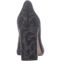 MICHAEL Michael Kors Jamie Pump Classic Heels, Black Leaf Leather image 5