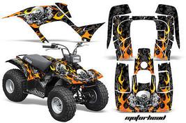 Yamaha Breeze 125 Graphics Sticker Kit AMR Racing ATV Quad Decal 89-07 M... - $169.95