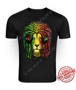 New Bob Marley Smoking Joint Men T-shirt Rasta Marijuana Lion Zion S - 5XL - $9.89+