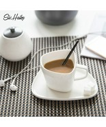 LOULONG® Creative Irregular Shape Design Ceramic Coffee Cups And Mugs Sa... - $35.84