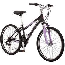"Outdoor 24"" Mountain Bike Schwinn Sidewinder Girl's Black/Pink Beach Bicycle New - $182.20"