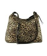 LONI Feral Shoulder Cross-body Hobo Bag in Animal Print Faux Fur - $35.63