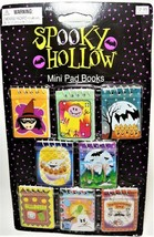 Halloween! Spooky Hollow Mini Pad Books, Great for Treats and Party Favors!