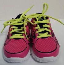 Flia Turbo 2 Girls Size 11 Running Shoes Navy Blue,Pink,Neon Yellow New - €13,43 EUR