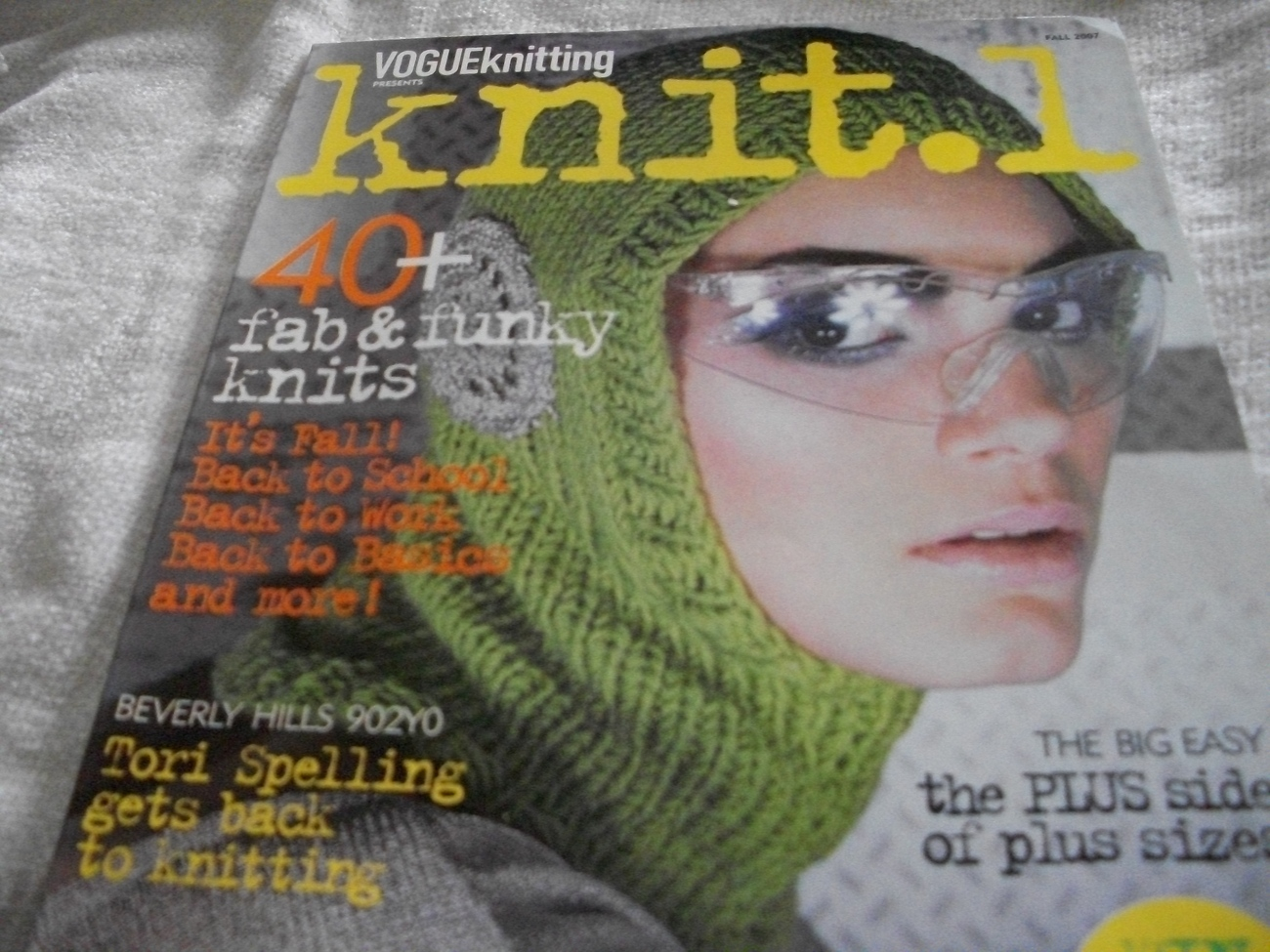 Vogue Knitting Knit.1 Fall 2007 Magazine