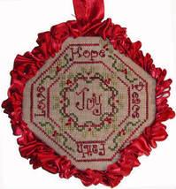Glad Tidings christmas cross stitch chart Praiseworthy Stitches - $5.40
