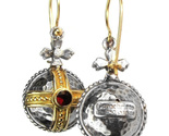 02003063 gerochristo 3063 silver gold byzantine medieval earrings 8 thumb155 crop