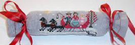 Christmas Sleigh Ride christmas cross stitch chart Praiseworthy Stitches - $5.40