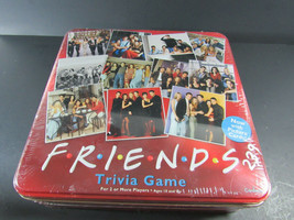 FRIENDS TRIVIA GAME TV Show 2003 Picture Cards In Collectible Red Tin CO... - $29.69
