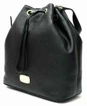 NEW! Michael Kors Jules Large Convertible Drawstring Leather Shoulder Ba... - $279.88