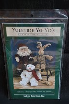 Yuletide Yo-Yo's by Karen Kottke pattern for yo... - $5.94