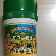 Sanrio Vintage Kero Kero Keroppi Water Bottle New Rare Cute Picnic - $38.64