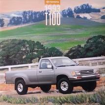 1993 Toyota T100 sales brochure catalog 2nd Edition US 93 SR5 One Ton Tu... - $8.00