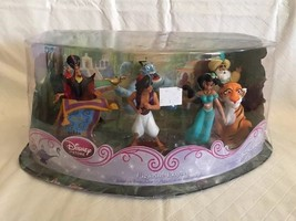 RARE Disney Store Jasmine Figurine Set - Aladdin, Jafar, Genie, Baloo, K... - $29.69
