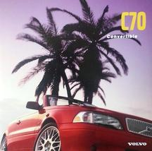 1998/1999 Volvo C70 CONVERTIBLE brochure catalog US 98 T5 - $12.00
