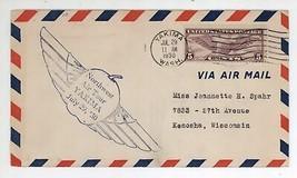 July 29, 1930 Northwest Air Tour Cover Yakima WA Postmark Cancel! Scott ... - $11.99