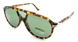 Persol Sunglasses PO 3217S 1052/P1 59-14-145 Madreterra / Green Polarize... - $131.32