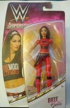 Brie Bella Wwe Superstars Diva Wrestling Action Figure Mattel Moc - $11.92