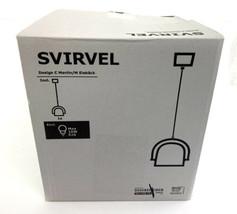 IKEA SVIRVEL White Pendant lamp - white Modern Decor Light - $28.66