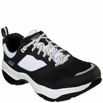SKECHERS MEN'S MANTRA ULTRA TRAINING SHOE BLACK/WHITE - $44.99