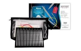 "Knitter's Pride - Nova Platina - 4.5"" Interchangeable Needle Set Deluxe ... - $61.15"