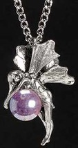 Sleeping Bubble Fairy Pendant - $12.95