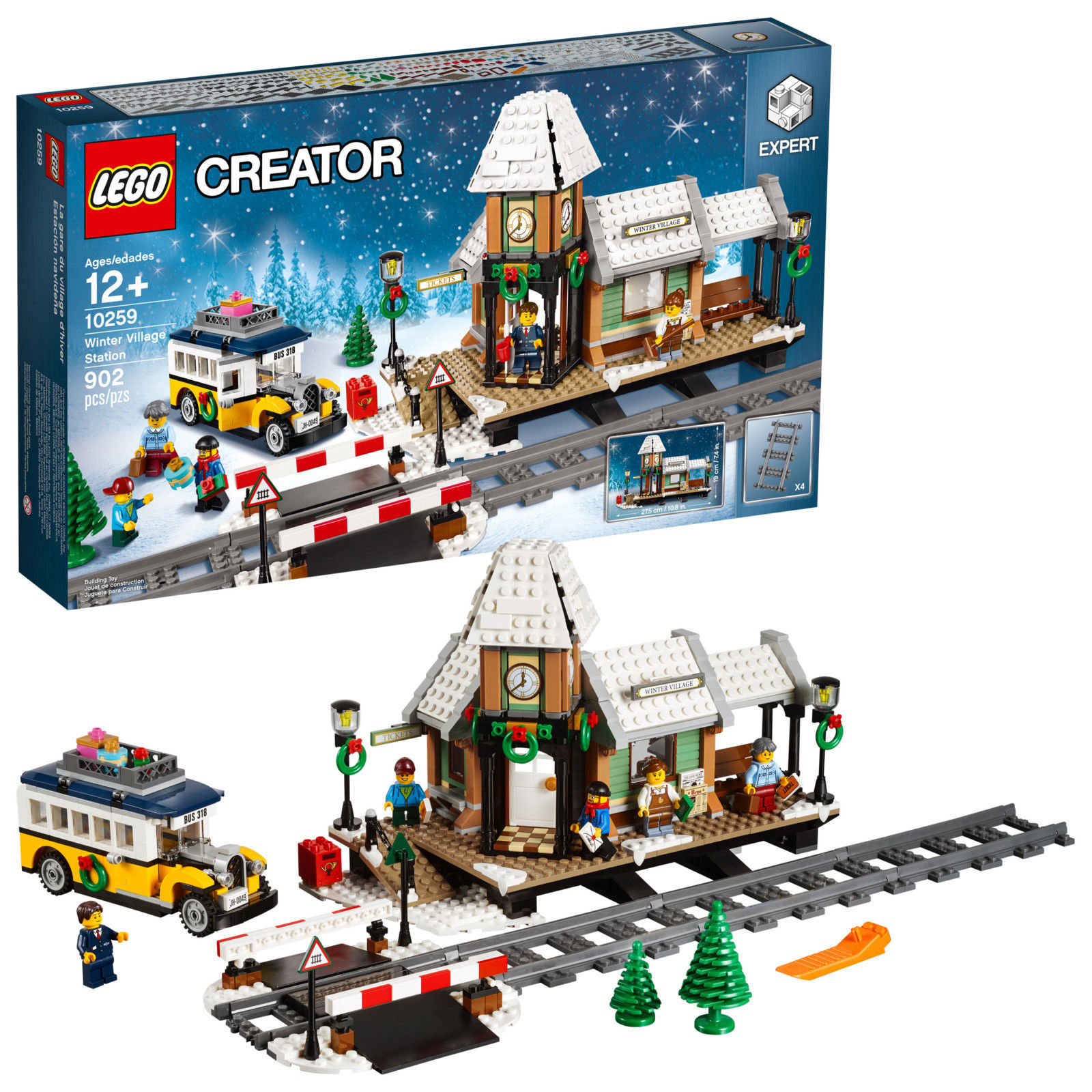 LEGO Creator Expert Winter Village Station 10259 Christmas [NEW] Building Set