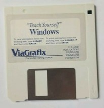 Teach Yourself Windows Viagrafix Diskette Floppy Disk - $3.49
