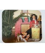 Vintage Barbie Christmas Computer Mouse Pad 9 1/4x8 - $13.85