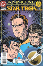 Classic Star Trek Comic Book Annual #5 Dc Series 2, Near Mint 1994 Unread - $4.99