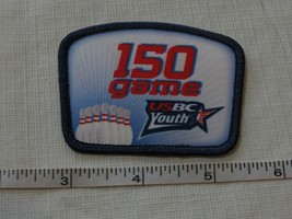RARE USBC United States Bowling Congress 150 game patch award YOUTH adul... - $10.72