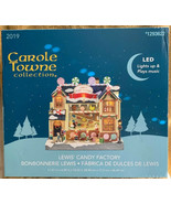 2019 New Carole Towne Collection Lewis' Candy Factory Lights Up Music - $98.99
