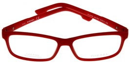 New Diesel Unisex Red Eyeglasses Frame Rectangular DL5224 067 - $88.11