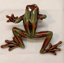 Golden Pond Collection Green and Brown Frog Shelf Sitter 5.5 X 7 - $59.40