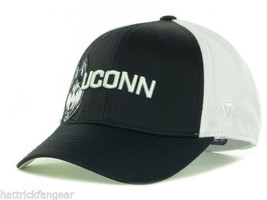U Conn Huskies Top of the World NCAA Trapped One Fit Stretch Fit Cap Hat OSFM - $18.99