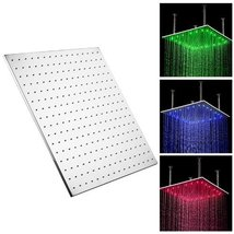 Fuloon 24 inch Stainless Steel Shower Head with Color Changing LED Light - $544.45