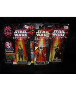 Star Wars Episode 1 Lot Of 3 Different Queen Amidala Figures In The Package - $19.99